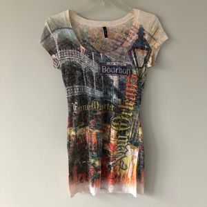 Tops - New Orleans long tee